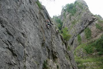 A traverse at Cheddar .