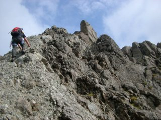 Final push to summit