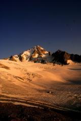 Aiguille Du Chardonnet Sunset