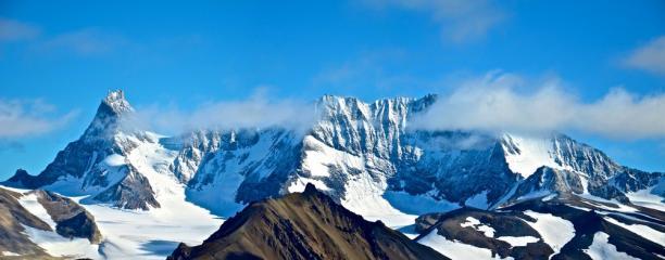 Hornsundtind, Conwaykammen & Mehesten, Spitsbergen.