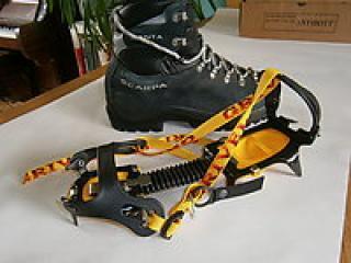 Premier Post: FS: Scarpa Boots & Grivel Crampons