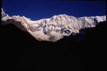 Annapurna from the southern base camp