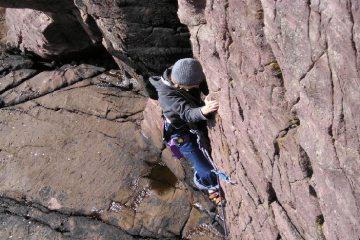 summer climbing at reiff
