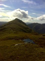 Ben Tulaichean from the slopes of Cruich Ardrain.