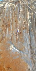 Climbing at Galatiani on one of the busiest day's of the year... and it's deserted!