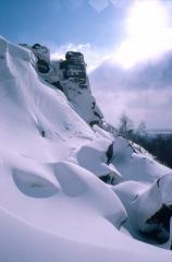 Repost - Frogatt Pinnacle back when we used to have proper winters