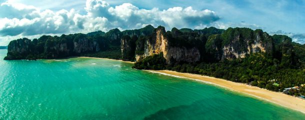 Railay/Tonsai Peninsula, taken from pitch 2 of Circus Oz