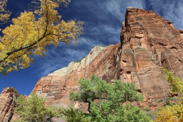 Zion National Park in the Fall
