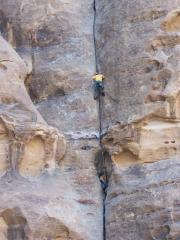 Oxford climbers in Wadi Rum area