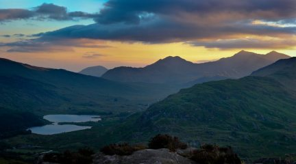 Evening Light, Snowdon and Dyffryn Mymbyr