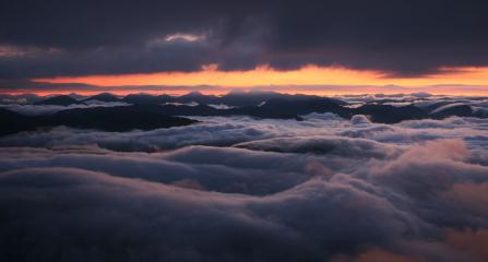 Midsummer twilight from Ben Lomond
