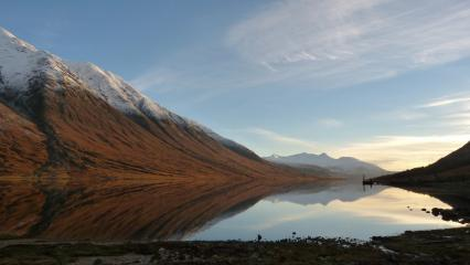 Last light on Loch Etive
