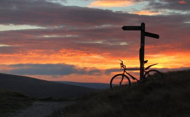 Evening on the Pennine Bridleway
