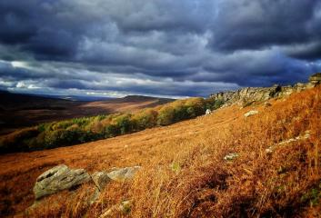 Moody Stanage in October