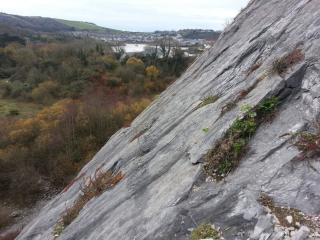 View from Cleavage / Radford Quarry