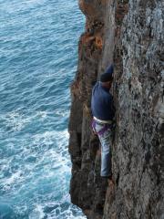 Climber Roger Mitchell