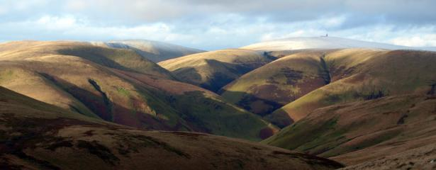 Away from it all in the Lowther Hills, Dumfrieshire