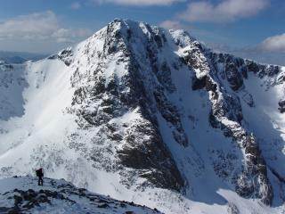 Great winter conditions on Tower Ridge and NE Buttress of Ben Nevis