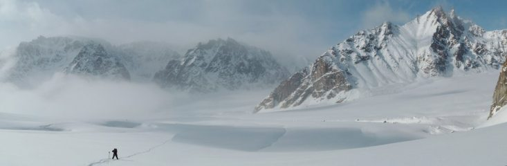 Panorama - Southern Stauning Alps, North east Greenland.