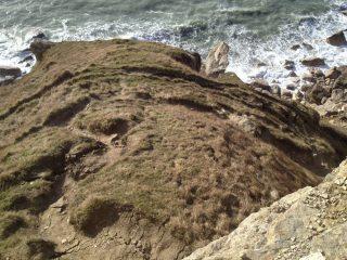 New cracks underneath Sharbutt's Quarry?