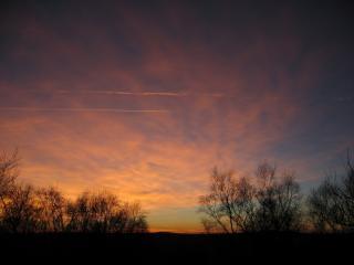 Sunset at Brimham