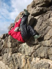 Bouldering Sanna Bay