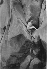Lone Tree Groove 1960s style  Climber Chris Fitzhugh