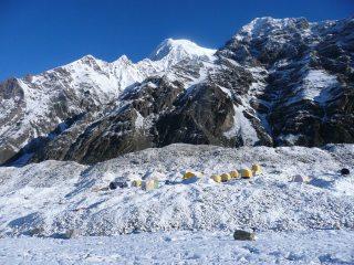 Khan Tengri base camp