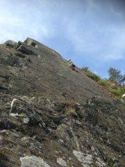 Derek climbing airway