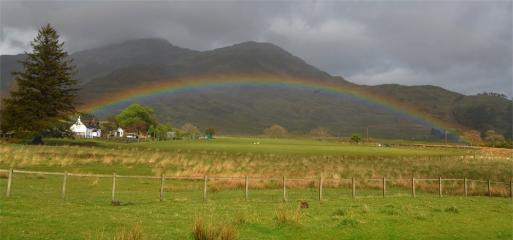 Shallow Mull rainbow