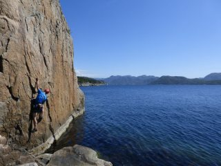 Shallow water soloing