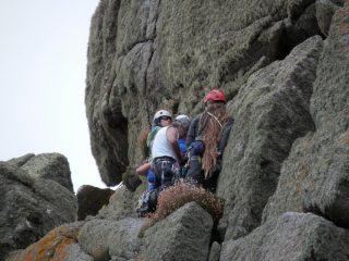 Flannel Avenue, Chair Ladder, Cornwall, Climbers