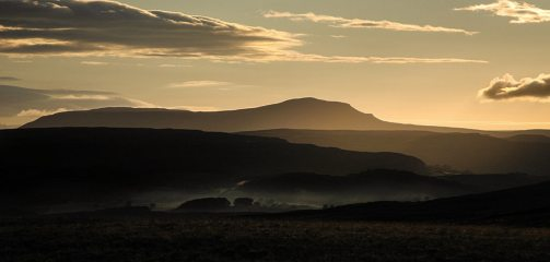 Sunrise over Pen-y-Ghent