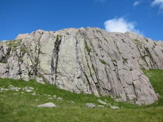 Smooth Slabs area, Upper Gaitkins.