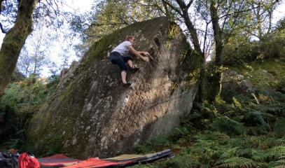 Trust - Nought Bank Boulders (Guisecliff)