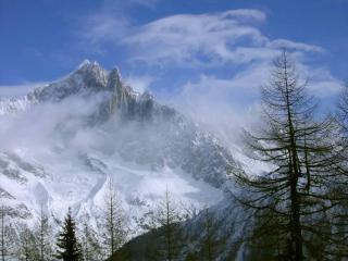Les Drus from Le Brevent