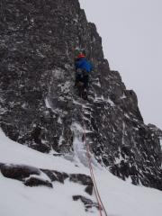 Malcolm Bass on the start of pitch 1 Directosaur
