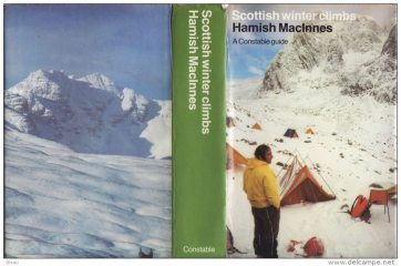 Scottish winter climbs book cover