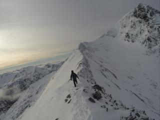 Carn Mor Dearg Arete - Cloudless Summit