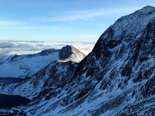 Lliwedd and Snowdon