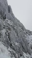 Pillar Chimney, Clogwyn Du