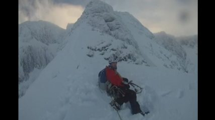 Ben Nevis - Tower Ridge, just before the great tower