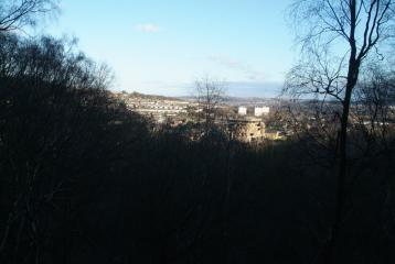 View from crag