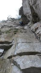 Leigh ready to commit on crux of second pitch of King Kong