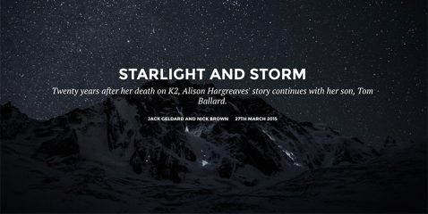 DIGITAL FEATURE: Starlight and Storm