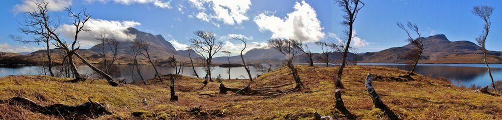 The view from Eilean Mor, Loch Sionasgaig