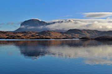 Suilven from Loch Sionasgaig