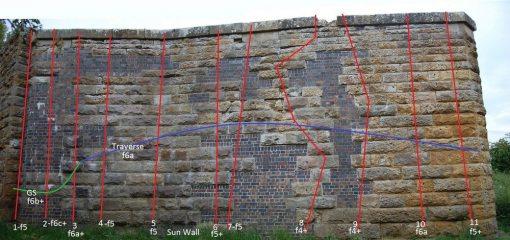 Sun Wall topo