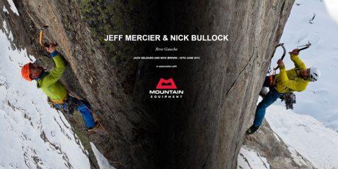 DIGITAL FEATURE: Jeff Mercier and Nick Bullock - Rive Gauche