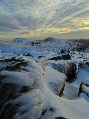 Snow & rock, Great Carrs